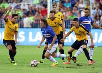 El Málaga gana el Costa del Sol y Kameni para dos penaltis