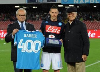 Marek Hamsik seguirá como jugador del Nápoles hasta 2020