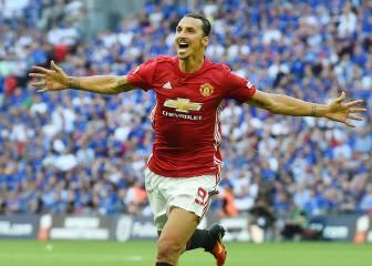 Ibrahimovic le da a Mourinho su primer título con el United