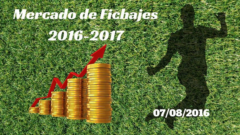 Mercado de Fichajes en directo: resumen del domingo 07/08/2016 - AS.com