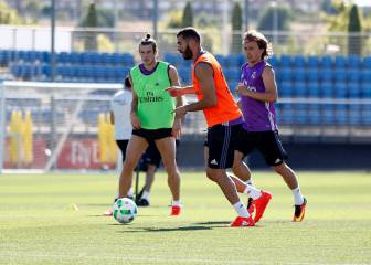 Bale y Kroos se pierden la final y Benzema aprieta para jugar