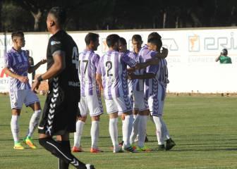 El gol de Ibán Salvador provoca la ira de los jugadores del Lugo
