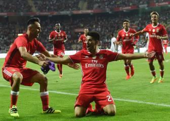 El Benfica gana la Supercopa gracias a Cervi y Pizzi
