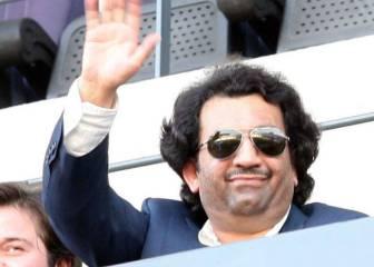 Al-Thani se apunta a la concentración del Málaga