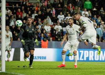 Sergio Ramos volvió a rescatar al Real Madrid en el minuto 93