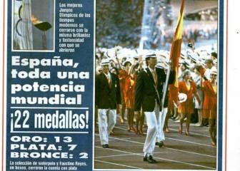 El 9 de agosto de 1992 terminan los Juegos de Barcelona