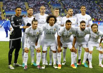 El Madrid sale con 7 titulares distintos a la final de Milán