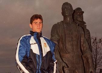 Iker Casillas: del instituto a suplente en Trondheim...