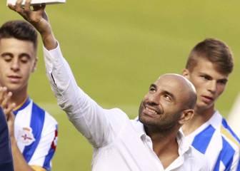 Andone debuta con gol y rinde homenaje a Manuel Pablo