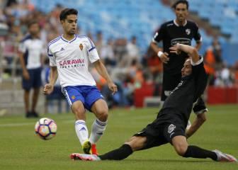 Lanzarote marca el tanto del triunfo en su estreno