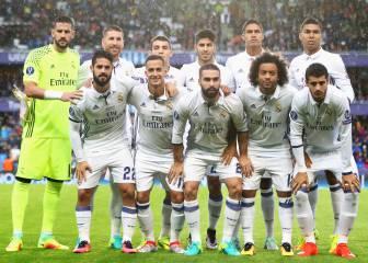 El Real Madrid más español: 7 nacionales en el once titular