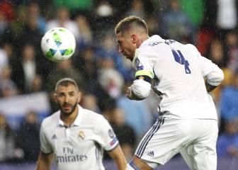Sergio Ramos, el defensa más goleador en finales europeas