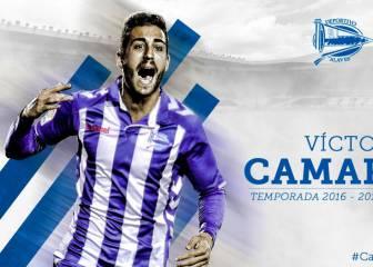 El Alavés refuerza su centro del campo con Víctor Camarasa
