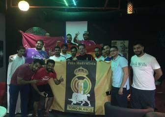 La peña Toro Blanco de Kuwait festejó la Supercopa