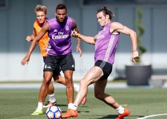 Bale y Kroos trabajaron con el grupo; Benzema, en el gimnasio