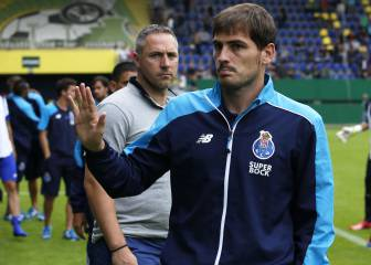 Iker Casillas busca su revancha con el Oporto en la 'Primeira'