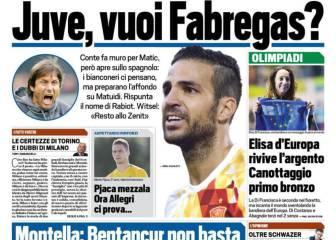 La Juventus, interesada en Cesc tras la marcha de Pogba