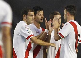 El Rayo golea a Osasuna y cierra su pretemporada invicto