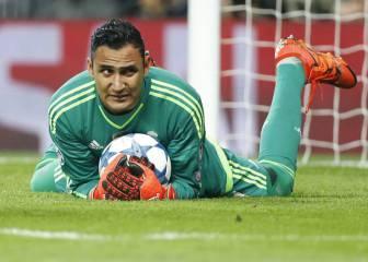 Keylor Navas no irá convocado con Costa Rica en septiembre