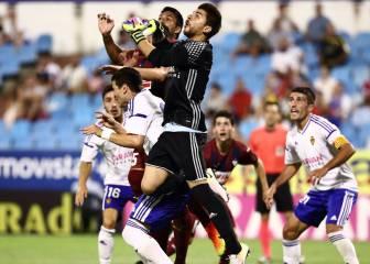 El Zaragoza desaprovecha un 2-0 y lo arregla en los penaltis