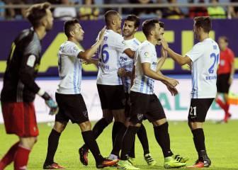 Primer Carranza del Málaga y En Nesiry ya suma seis goles