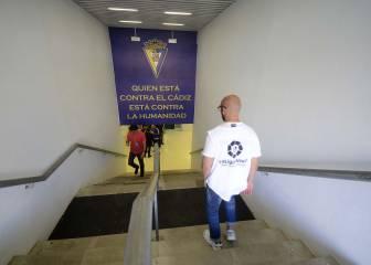 El Cádiz arenga a su afición con una frase de Alfredo Relaño