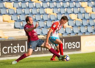 El Lugo cierra la pretemporada con alegría en Pontevedra