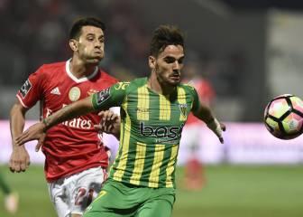 El Benfica comienza ganando al Tondela gracias a Lisandro López