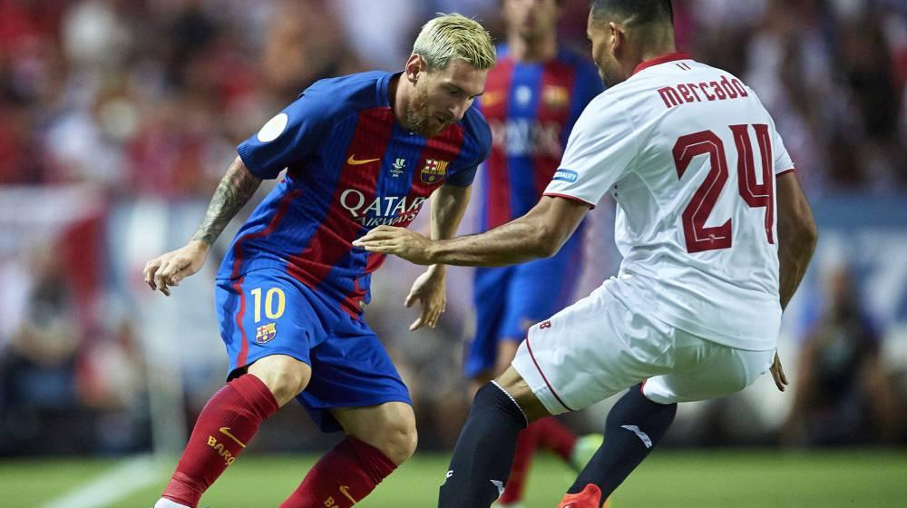 Resultado de imagen para Barcelona y el Sevilla supercopa