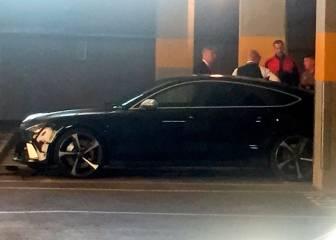 El peor día de Cech: recibe cuatro goles y golpea su coche