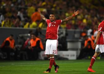 El Bayern descarta que Vidal tenga una lesión grave