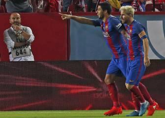 Uno por uno del Barça: la ley de Luis Suárez y Messi