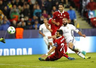 Los defensas del Real Madrid suman seis de los ocho goles