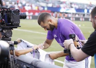 El Real Madrid prepara el Trofeo Santiago Bernabéu sin Benzema