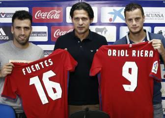 Oriol Riera y Juan Fuentes,