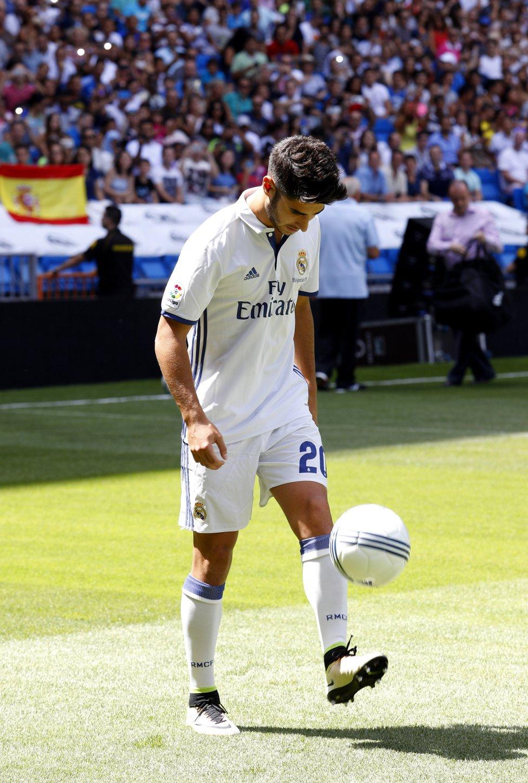 Real Madrid: Las mejores imágenes de la presentación de Marco ...