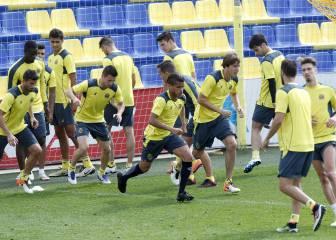 El Villarreal tiene ocho bajas para recibir al Mónaco