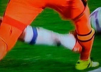 Diego Costa no cambia y la prensa le atiza por esta entrada