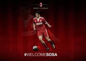 José Sosa ficha por el Milán para las próximas dos temporadas