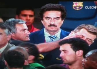 17-A: Mourinho mete el dedo en el ojo a Tito en la Supercopa