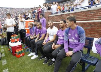 Karim Benzema todavía no se cura de su lesión de cadera