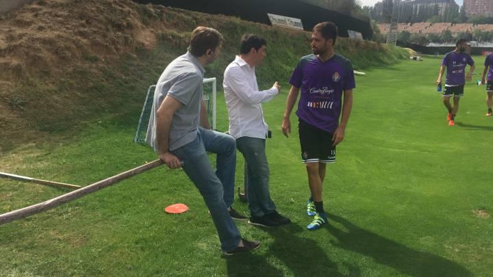 Míchel Herrero ya se entrena con el equipo de Paco Herrera