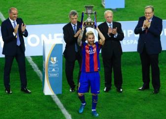 'SuperMessi' supera a Xavi: es el jugador con más Supercopas