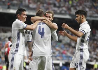 James, Isco y Marco Asensio: tres para un puesto inexistente