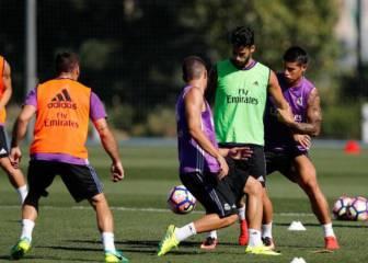 Cristiano se entrena aparte antes del debut liguero ante la Real