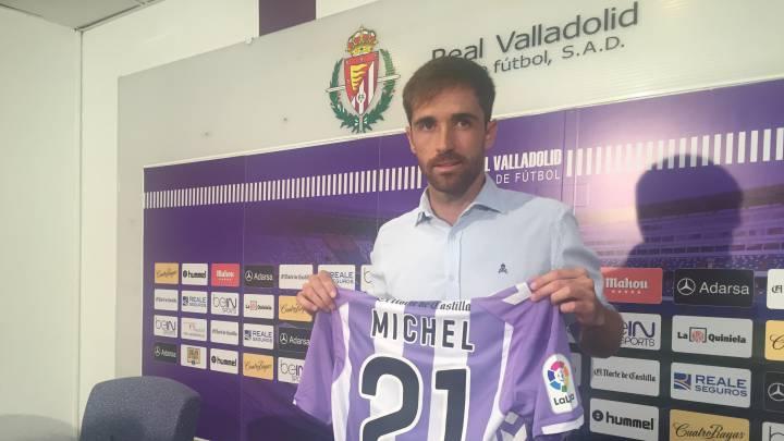 Míchel llega con la ilusión de disfrutar del fútbol y de España