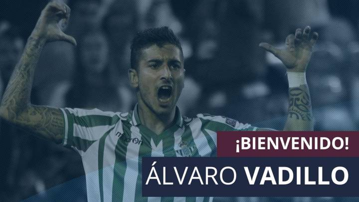 Álvaro Vadillo, refuerzo de lujo para el ataque del Huesca