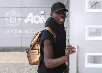 Pogba debuta esta noche con el United ante el Southampton