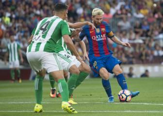 Barcelona 6 - 2 Betis: resumen, resultado y goles del partido