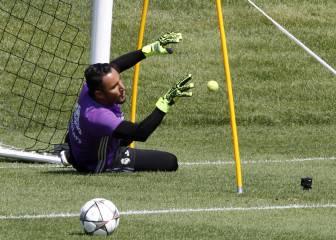 No se forzará a Keylor Navas: regresará tras el parón FIFA